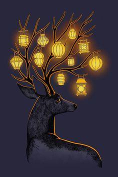 "Saatchi Online Artist: Indrė Bankauskaitė; Painting, Digital ""Dream Guide"""