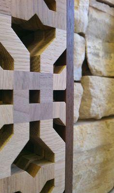 Beautiful wood screens