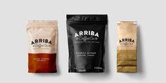 Arriba Coffee Co. — The Dieline - Branding & Packaging