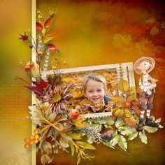 Autumn Comes by Bee Creation Bee, Autumn, Scrapbooking, Painting, Honey Bees, Fall Season, Painting Art, Bees, Fall