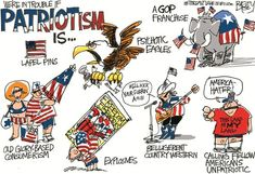 "Progressive Strategy: Retaking the Term: ""Patriotism"""