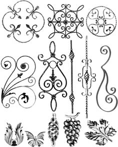 Outwater Introduces its Wrought Iron Decorative Panels Wrought Iron Wall Art, Wrought Iron Gates, Metal Tree Wall Art, Iron Gate Design, Iron Furniture, Iron Art, Decorative Panels, Iron Doors, Decoration