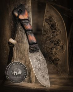 Prairiewind Hand Forged Knives and Custom Leather Works by PWTradeGoods Airport Design, Hand Forged Knife, Knife Handles, Mountain Man, Guns And Ammo, Knives And Swords, Knife Making, Custom Leather, Blacksmithing