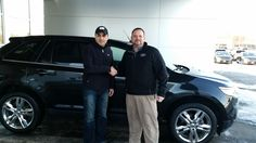 Mark Craig and the rest of us here at Court Street Ford would like to say congratulations to Sameer Ramahi of Champaign on the purchase of his 2013 Ford Edge. Thank you for your business Sameer!