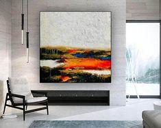 Abstract Canvas Art, Modern Canvas Art, Oil Painting On Canvas, Oil Paintings, Large Painting, Canvas Wall Art, Bedroom Paintings, Modern Wall Art, Contemporary Decor