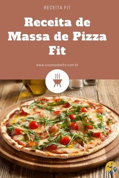 Receita de Massa de Pizza Fit, final de semana chegou e sempre bate aquela vontade de comer pizza. Essa receita feita com farinha e iogurte te ajuda a não fugir da alimentação saudável. Veja como fazer: