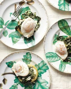 Sardou-Style Eggs / Martha Stewart  | <3 Eggs