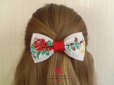 Diy Hairstyles, Folklore, Hair Clips, Ale, Diy And Crafts, Embroidery, Knot, Handmade, Wedding
