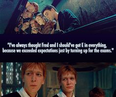 Fred & George on exams