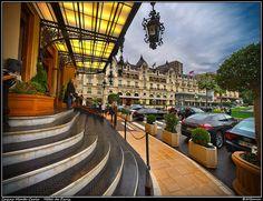 Casino Monte-Carlo, hotel de Paris. Monaco