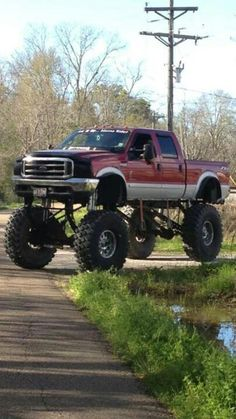 Lifted not bad for a ford may have a push button for the 4x4 or switch witch that's not good unless your planning on just driving it around for show no off road or pulling if you can that truck good bye