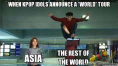 YES!!!! World Tours are the best!! As long as you are in a country that is considered part of the world.... #kpop