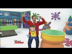 Do you want to learn how to make your own rap star who dances? Lloyd shows you how! Watch more Art Attack on Disney Junior to create your own makes! Check ou...