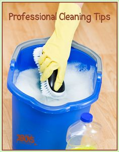cleaning tips from pros