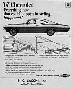 | 1967 Chevrolet Impala Sport Coupe.