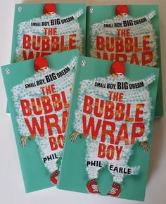 Win a Signed Copy of The Bubble Wrap Boy by Phil Earle
