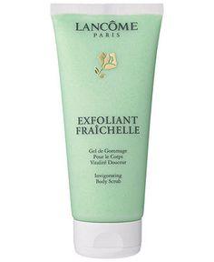 Lancome invigorating body scrub