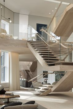 Staircases. This has to be a MASSIVE house for this format of staircase to be even viable. I am so...