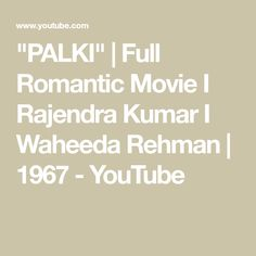 """PALKI"" 