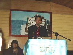 Yo en La #IglesiaMetodistaPentecostal de #Chile, #Combarbalá, La primera vez que estuve #Predicando la Palabra de #Dios.