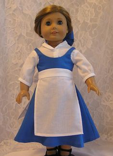 Beauty Town Dress for American Girl Doll from by MotherofNine, $24.00