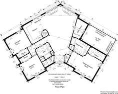 Boomerang shaped house plans