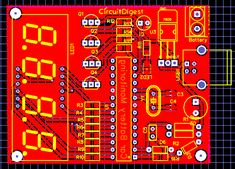 PCB Design for PIC Microcontroller Based Car Battery Voltage Monitoring System on PCB