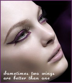 Sometimes you just gotta go for the double wings beauties no matter what :-) #love #eyeliner #makeup Xx