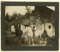 Men with Long-Barreled Guns, Appalachian Mountains.