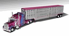 Kersplat - Earl Peterson Trucking - Peterbilt 379 with 63 Sleeper and Wilson Livestock Trailer - Level 2 Detail Kersplat has made Earl and Debbie proud with the awards it has received for custom paint and graphics engine lights and interior. The Age: 14 and up $88.82