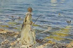 John Singer Sargent's Girl Fishing hammers for $4.3m at Christie's