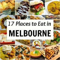 Travel Tips - 17 places to eat in Melbourne, Australia