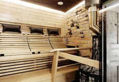 Building A Sauna, Wellness Spa, Laundry In Bathroom, Bathroom Layout, Blinds, Stairs, Cleopatra, Design, Home Decor