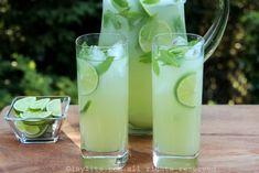 Coctel de limón y menta {Limonada con vodka}