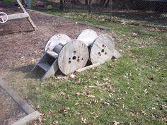 spool fun for playground