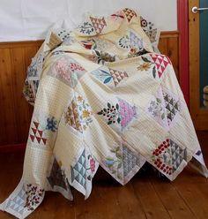 "Supergoof Quilts: ""The Flower Basket Girls"""