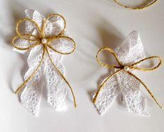 Svatební vývazek na přání Bow Design, Corsage, Embellishments, Wedding Decorations, Pearl Earrings, Bows, Party, Jewelry, Weddings