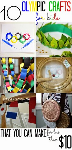 All Cheap Crafts: 10 Kid Friendly Olympic Crafts