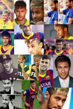 '_' Best Football Players Ever, Soccer Players, Love You Babe, My Love, Neymar Jr Wallpapers, Messi And Neymar, World Cup 2014, Best Player, Psg