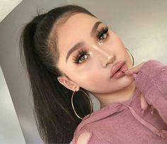 glam makeup – Hair and beauty tips, tricks and tutorials Flawless Makeup, Glam Makeup, Gorgeous Makeup, Pretty Makeup, Makeup Inspo, Makeup Art, Makeup Inspiration, Eye Makeup, Hair Makeup