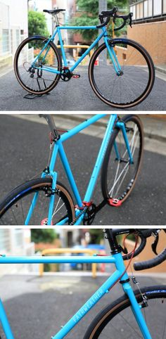 FAIRWEATHER cx complete bike by BLUE LUG on Flickr