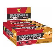 BSN SYNTHA-6 PROTEIN CRISP BARS - Peanut Butter Crunch, $19.99