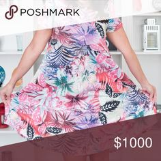 ISO THIS TROPICAL LULAROE CARLY IN XS PREFERABLY I'm dying to get my hands on this Carly!! LuLaRoe Dresses High Low