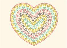 New Crochet Granny Square Heart Pattern Yarns Ideas Crochet Diy, Crochet Motifs, Crochet Diagram, Crochet Chart, Crochet Squares, Love Crochet, Crochet Doilies, Crochet Flowers, Crochet Stitches