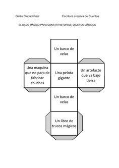 DADO OBJETOS-1. Crear cuentos