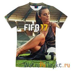 Мужская футболка 3D с полной запечаткой FIFA'17 купить в интернет магазине WsemPoMayke.Ru http://wsempomayke.ru/product/manshortfull/1072150  Доставка по России курьером или почтой, оплата при получении. Посмотреть размеры и цену > http://wsempomayke.ru/product/manshortfull/1072150