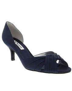 Nina Bridal CULVER_NEW NAVY Wedding Shoes photo