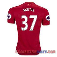 Camiseta SKRTEL Liverpool 2016 2017 primera