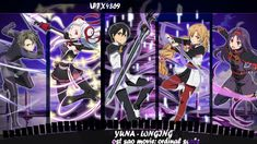 Yuna - Longing [ OST SAO Movie: Ordinal Scale ] Linkedin Banner Images, Sword Art Online, Online Art, Banner Of The Stars, Welcome To The Game, Manga, Best Banner Design, Kirito Asuna, Channel Art