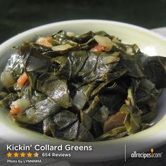 "Kickin' Collard Greens | ""Every time I've made Kickin' Collard Greens, friends and family rave on and on about how good they are. Delicious!"""